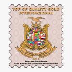 Prêmio internacional de padrão de qualidade 2015