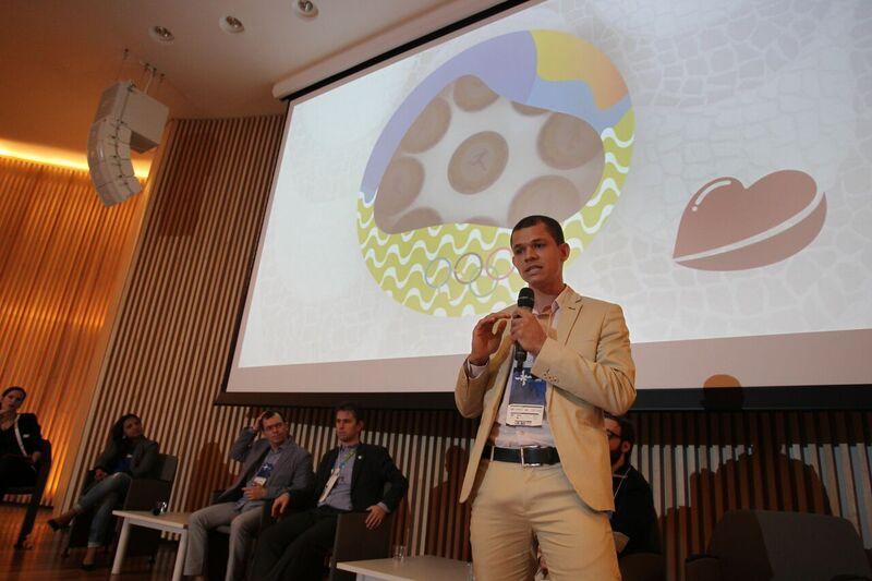 Aguimar Ferreira debate em talk show no Museu do Amanhã